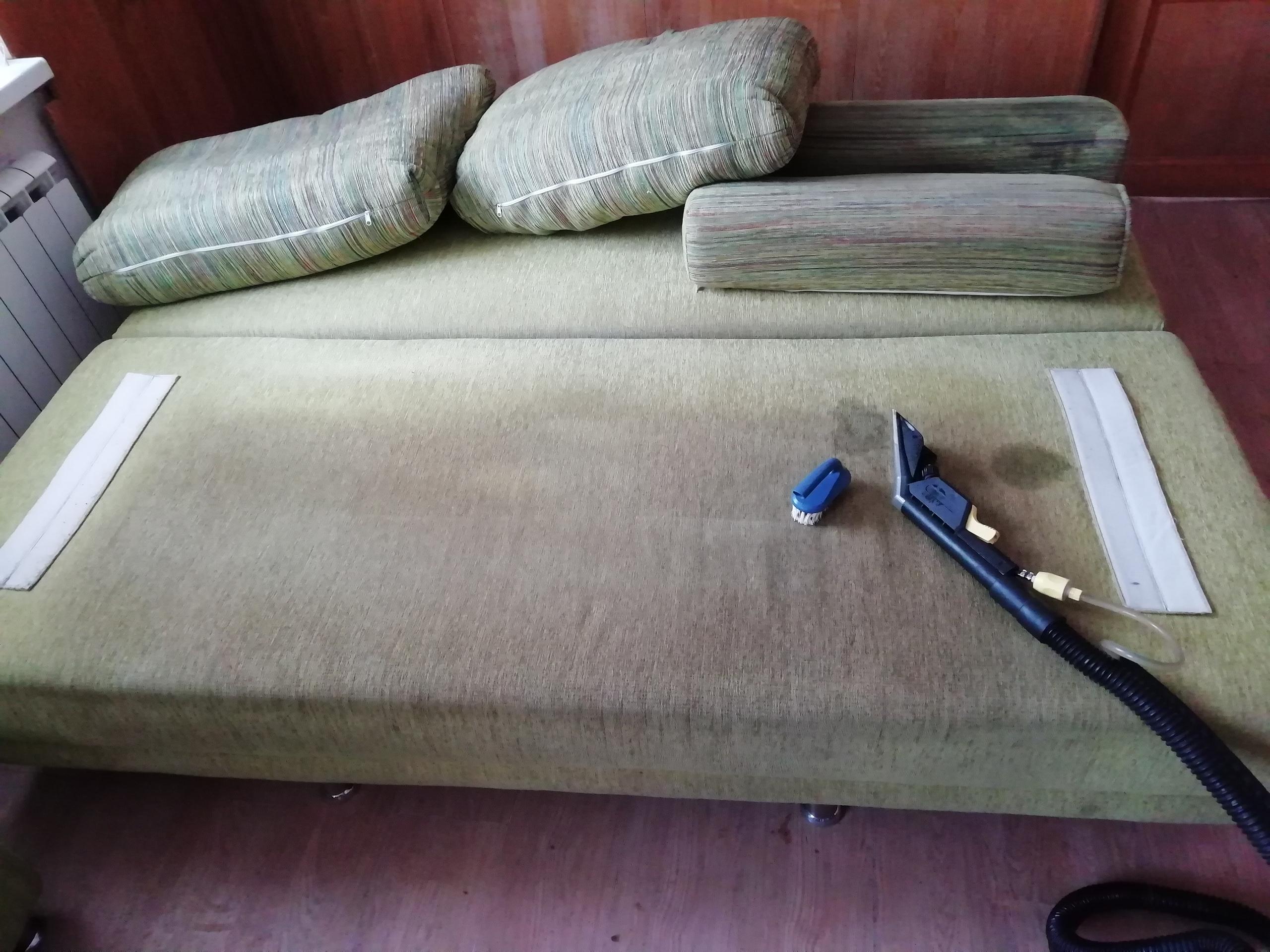 До химчистки мягкой мебели в Новокуйбышевске