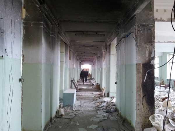 Демонтаж в Новокуйбышевске